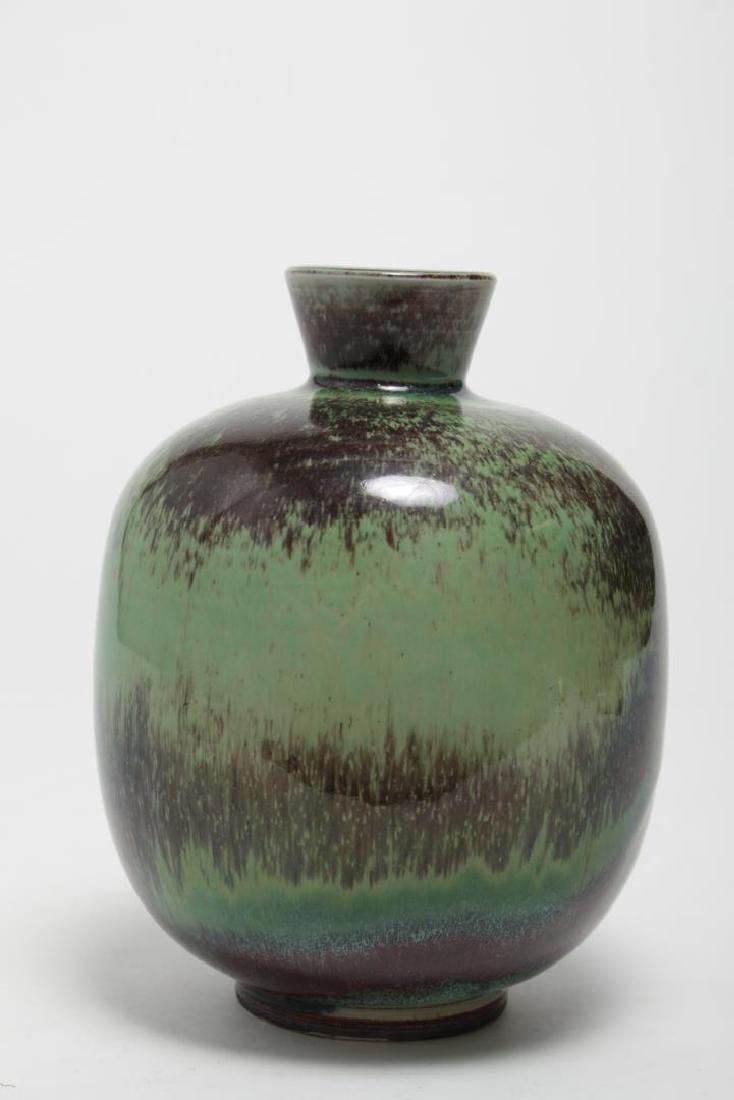 Mid-Century Gustavsberg Swedish Stoneware Vase - 3
