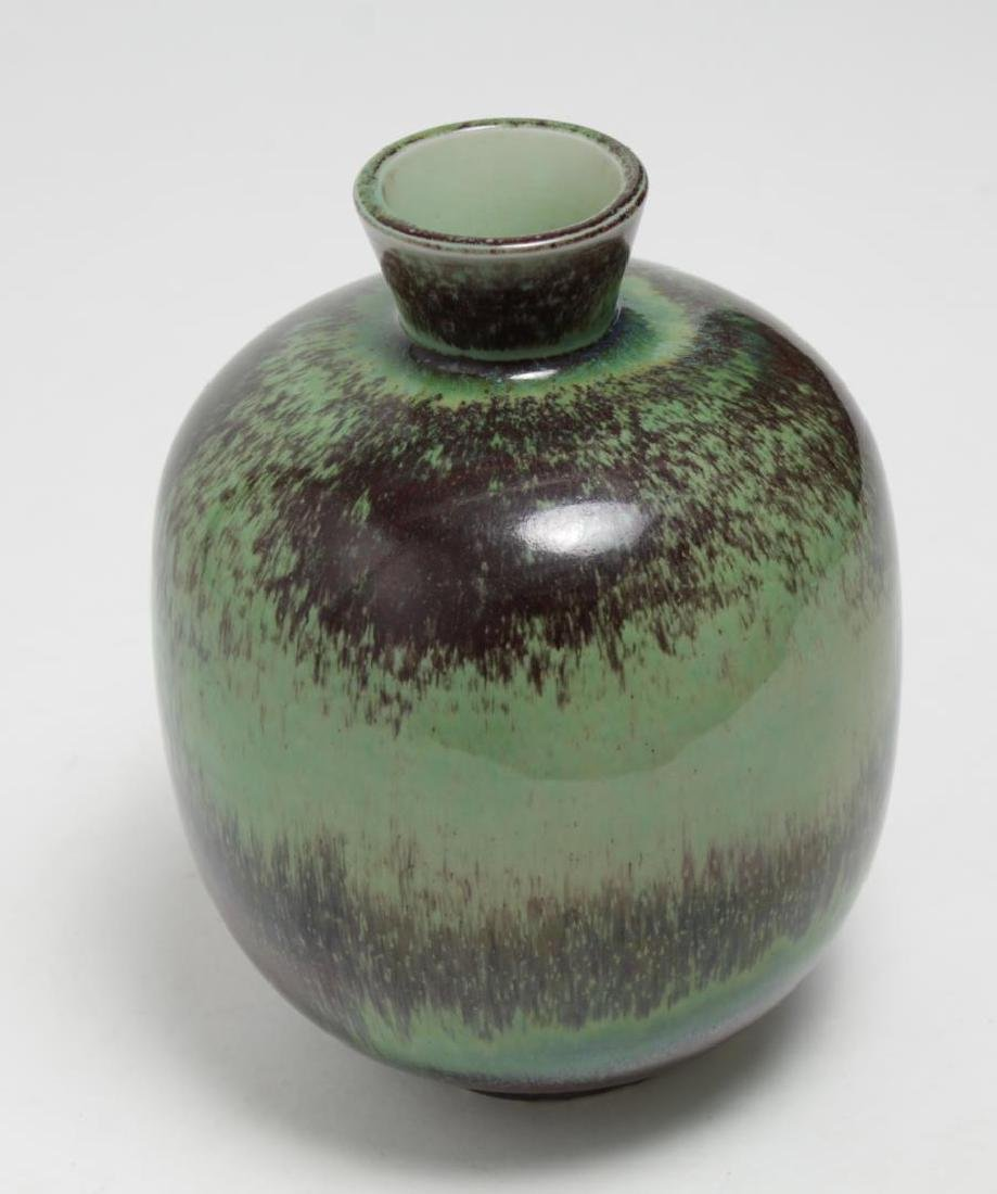Mid-Century Gustavsberg Swedish Stoneware Vase - 4