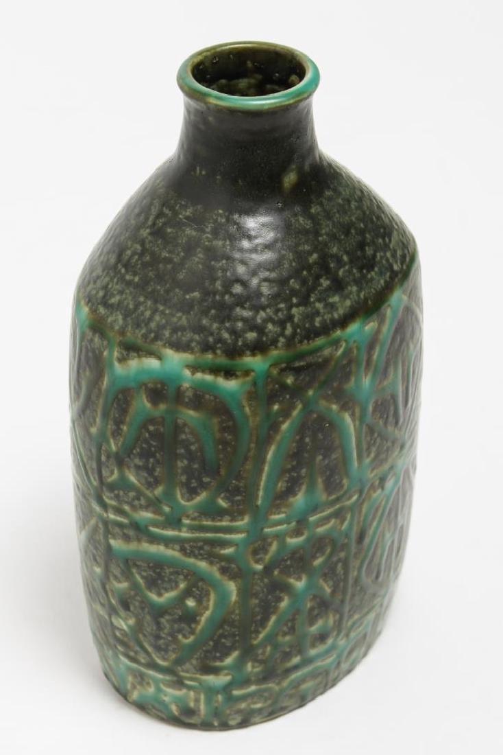 Aluminia Faience Nils Thorsson BACA Pottery Bottle - 2