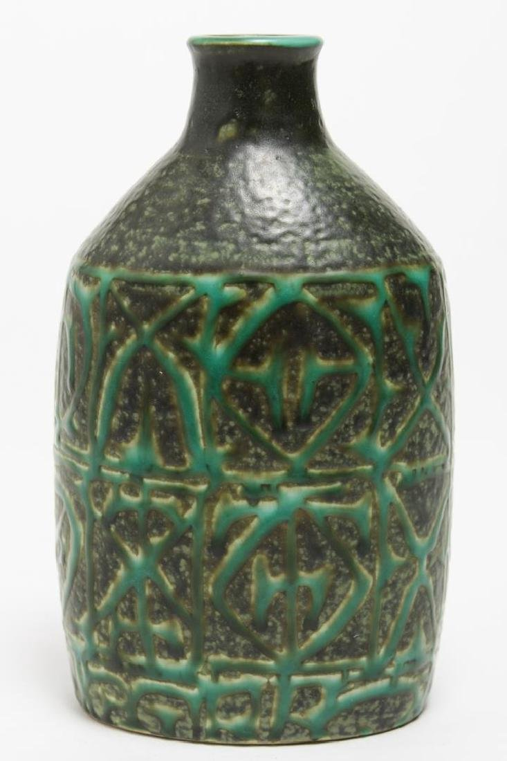 Aluminia Faience Nils Thorsson BACA Pottery Bottle - 3