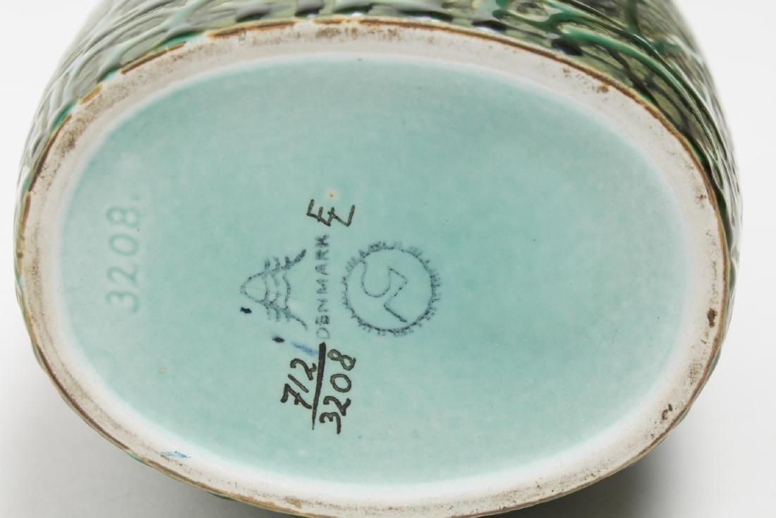Aluminia Faience Nils Thorsson BACA Pottery Bottle - 4