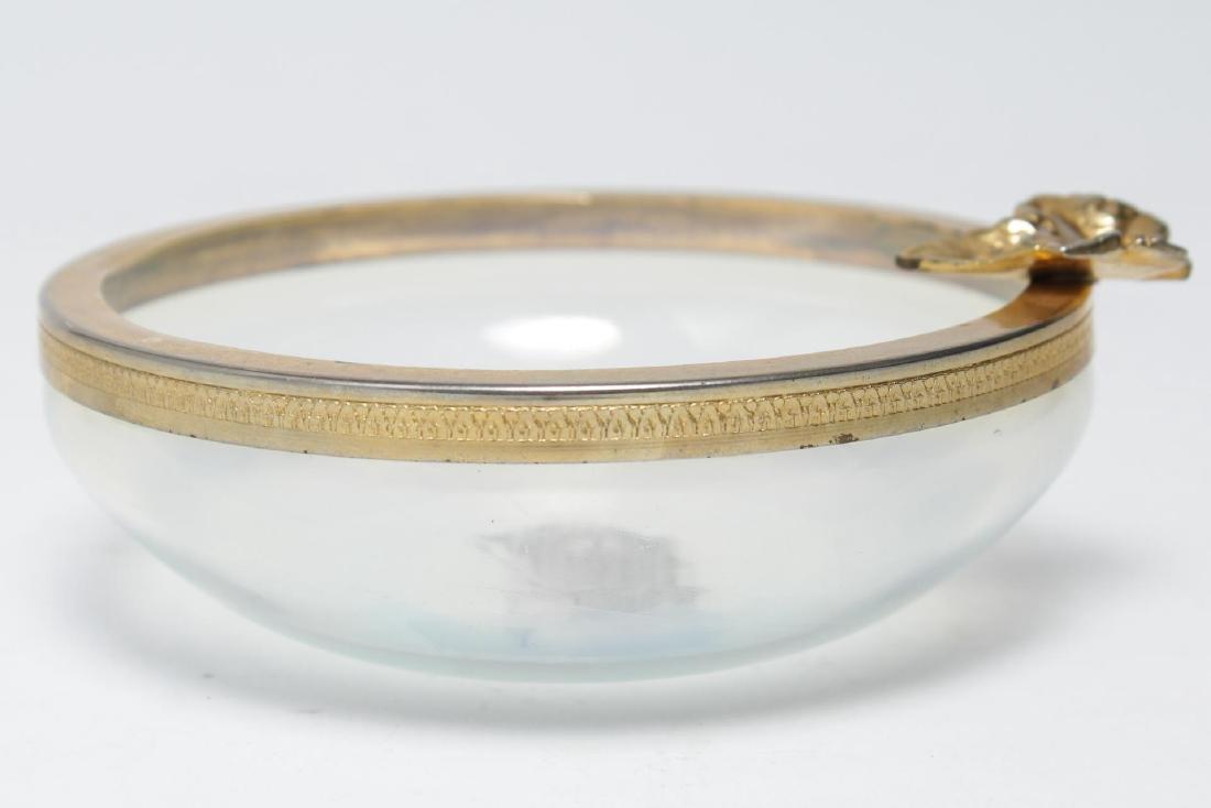 Italian Murano Glass Ormolu-Mounted Bowl