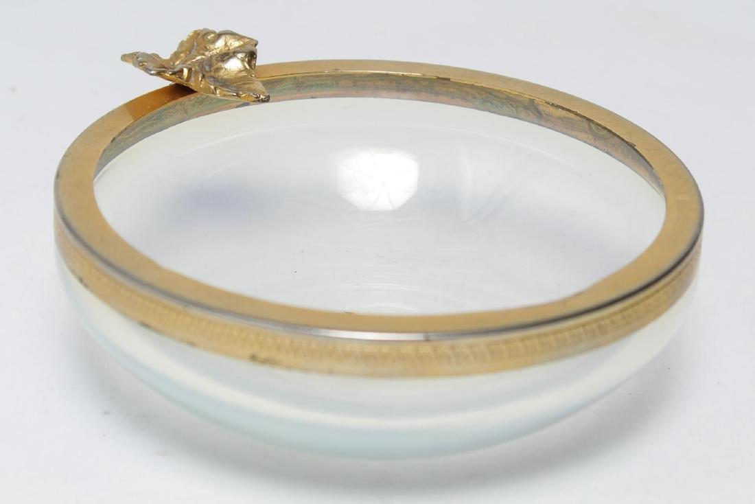 Italian Murano Glass Ormolu-Mounted Bowl - 2