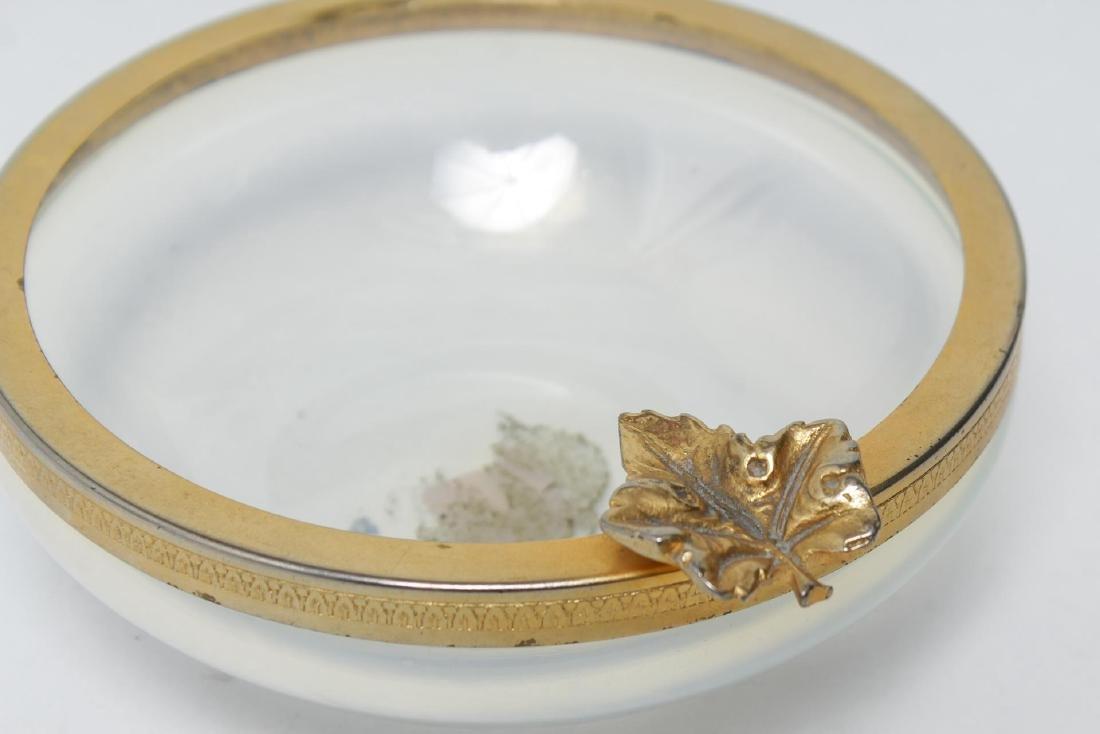Italian Murano Glass Ormolu-Mounted Bowl - 3