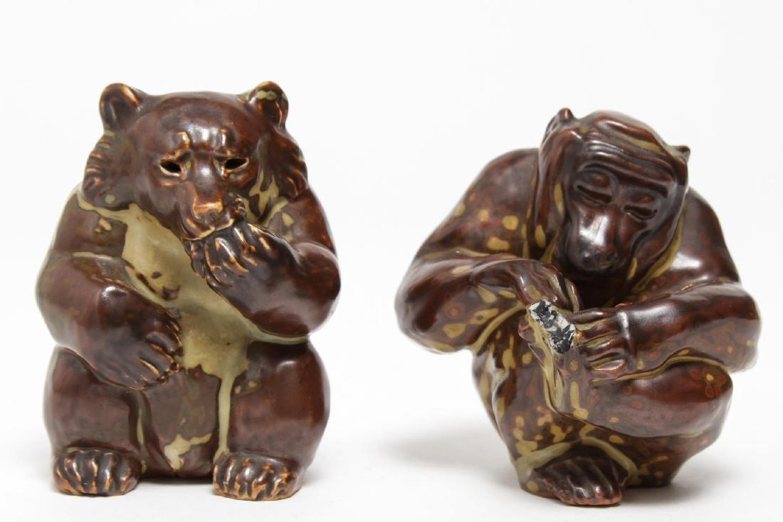 Royal Copenhagen Knud Kyhn Stoneware Animals, 2