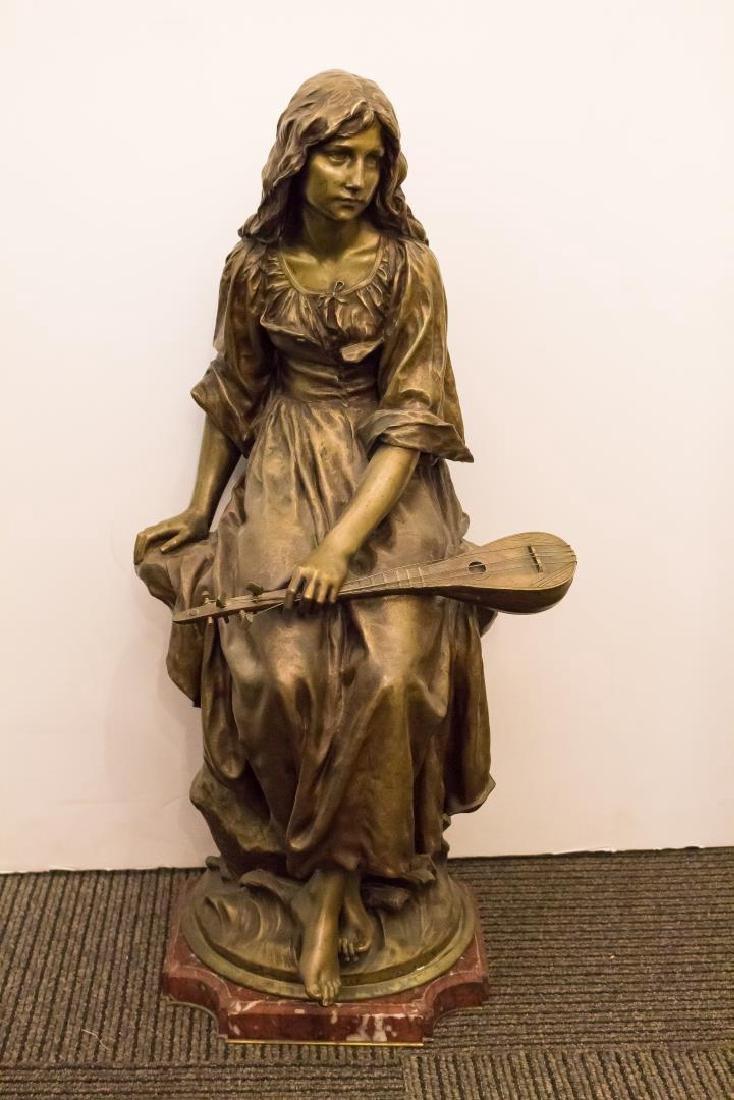 Paul Eugene Mengin (French, 1853-1937)- Bronze