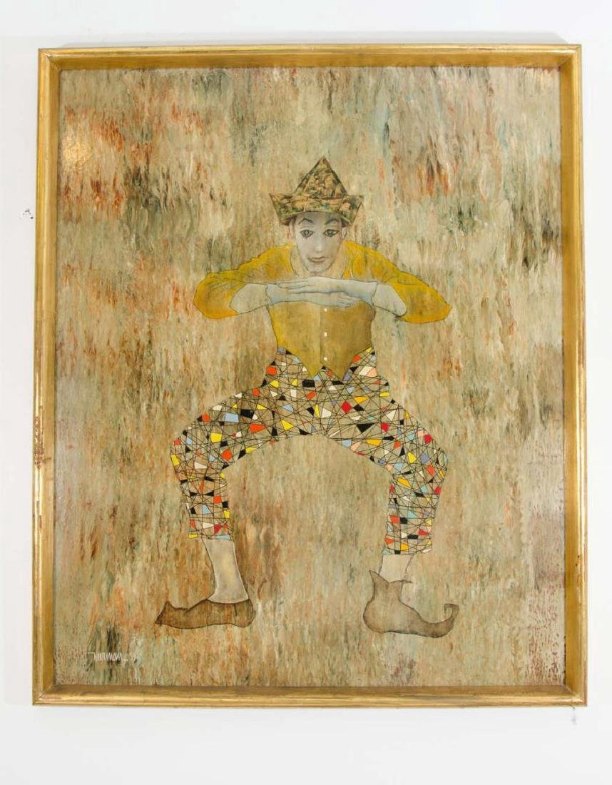 Leonardo Nierman (Mexican, b. 1932)- Mixed Media - 2