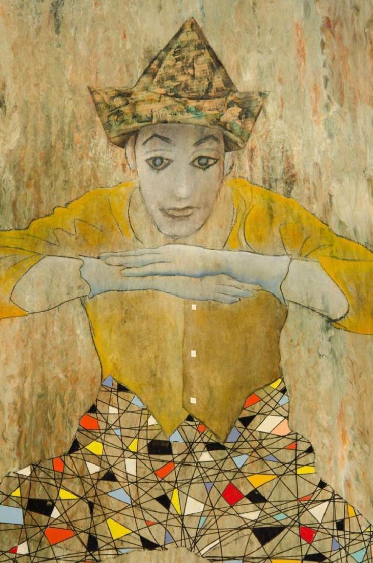 Leonardo Nierman (Mexican, b. 1932)- Mixed Media - 3