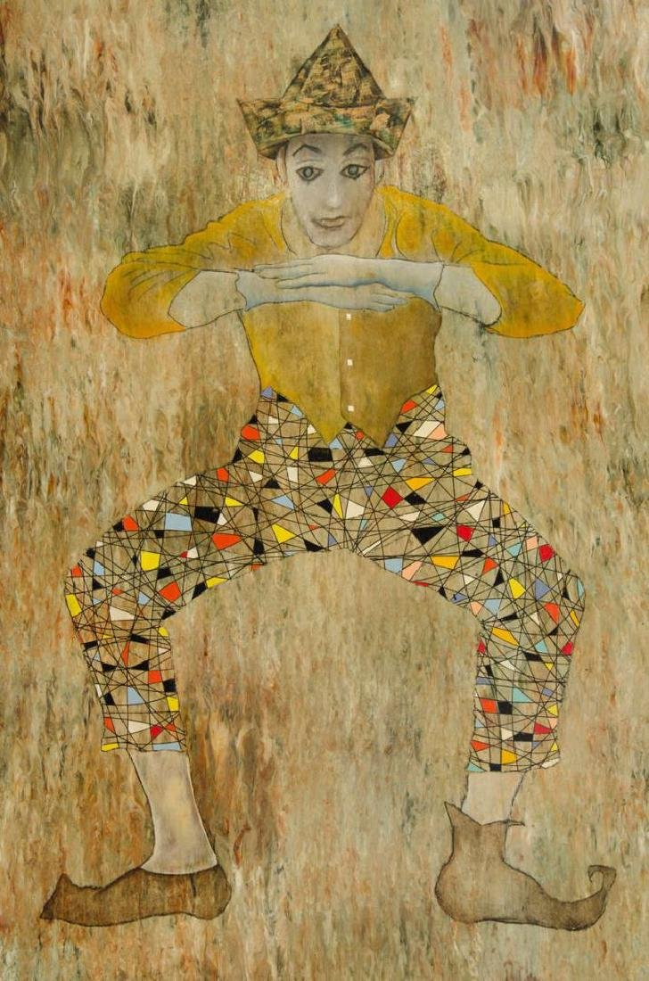 Leonardo Nierman (Mexican, b. 1932)- Mixed Media - 4