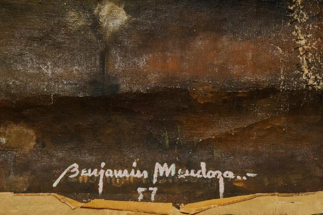 Benjamin Mendoza (Bolivian, b. 1935)- Oil - 3