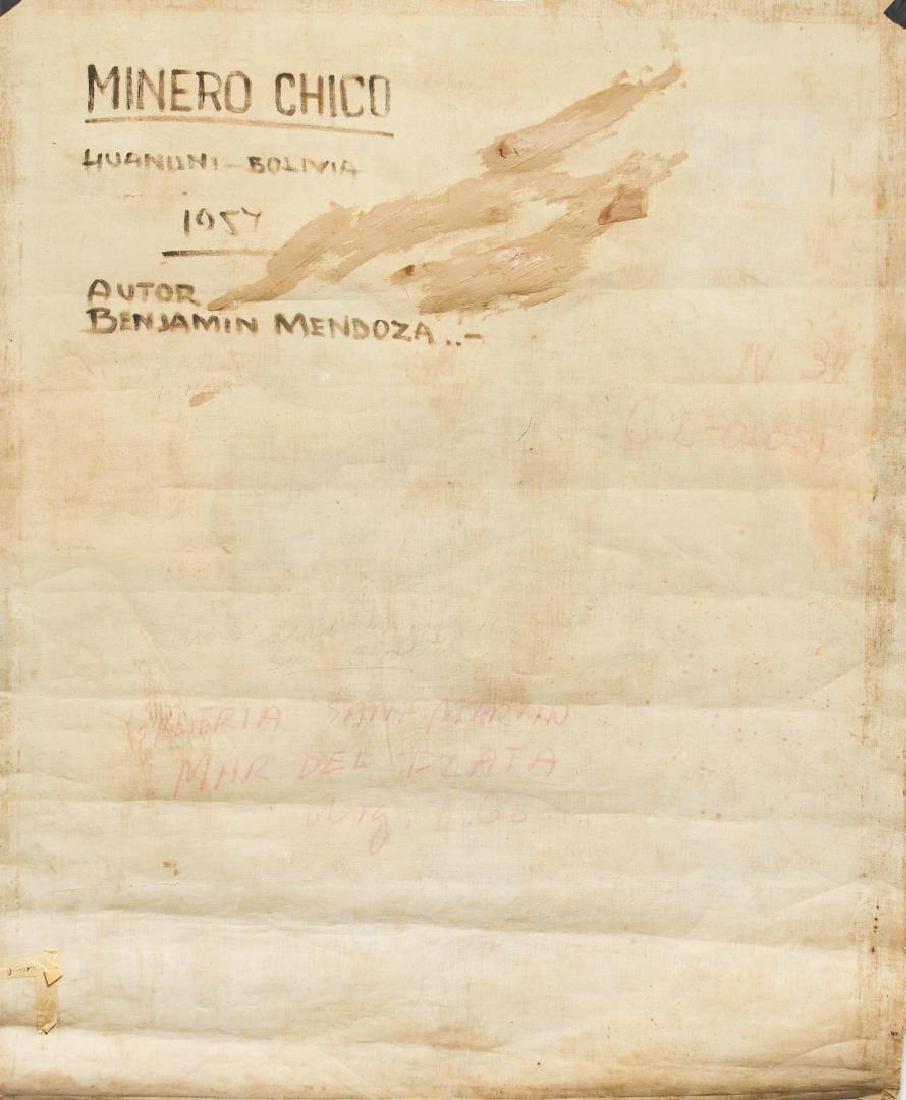 Benjamin Mendoza (Bolivian, b. 1935)- Oil - 4