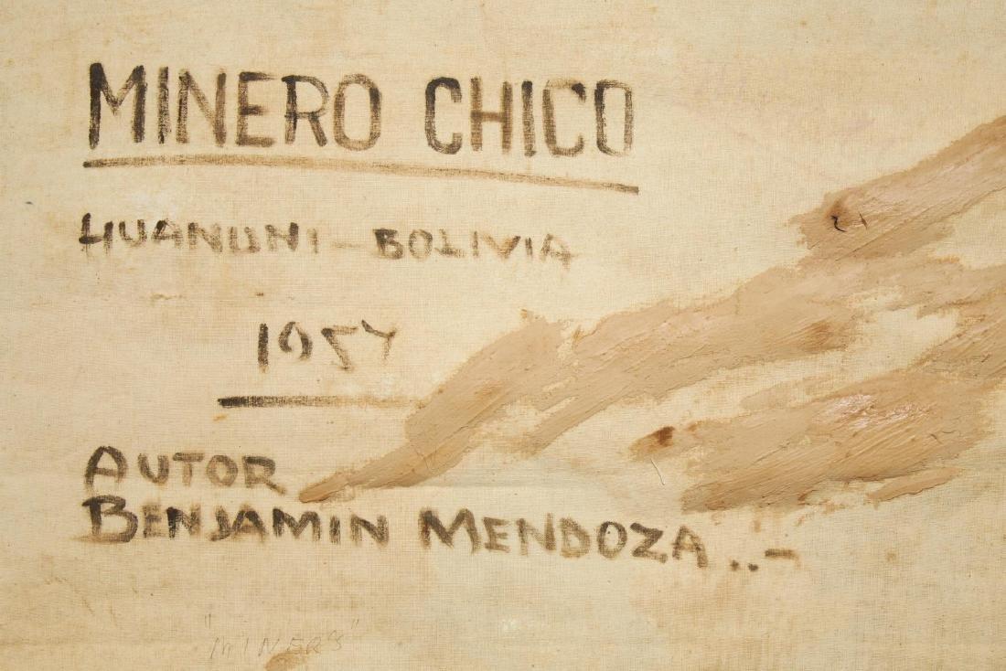 Benjamin Mendoza (Bolivian, b. 1935)- Oil - 5
