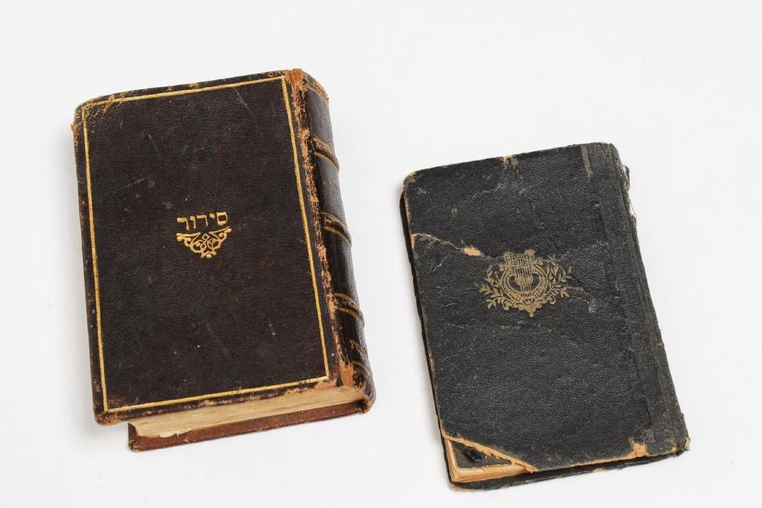 Judaica Prayer & Psalm Books, Antique, 2