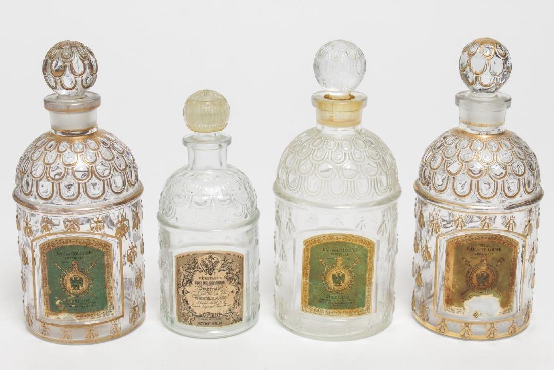 """Guerlain Imperiale Eau de Cologne """"Bee"""" Bottles, 4"""