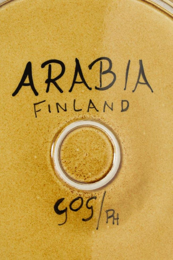 Arabia Finland Mid-Century Modern Pottery Plate - 3