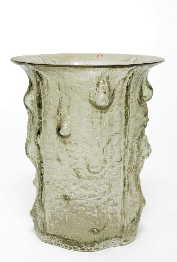 Mid-Century Timo Sarpaneva Iittala Glass Vase