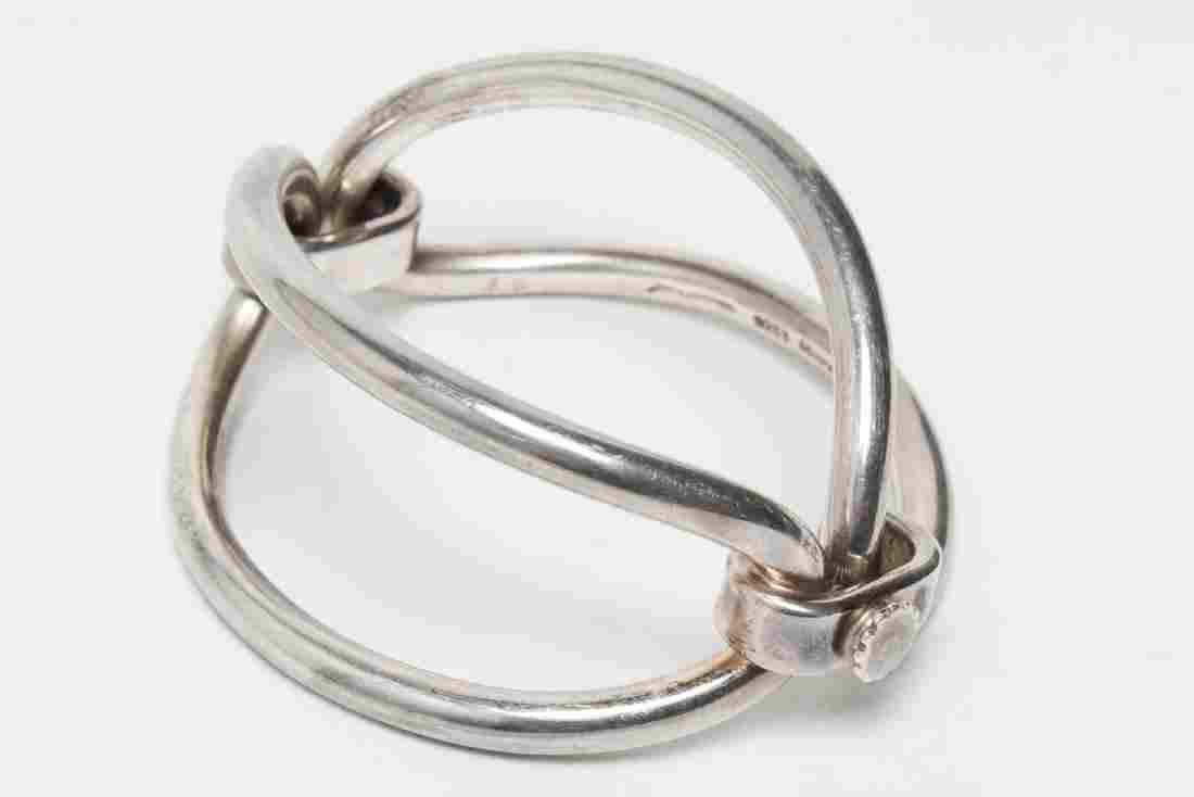 Vintage Hans Hansen Sterling Silver Cuff Bracelet