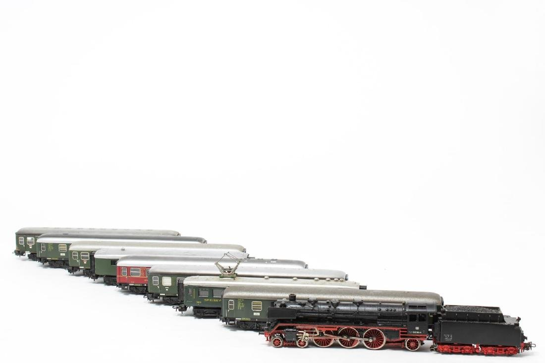 Marklin Model Trains, Assorted Group of 9, Vintage