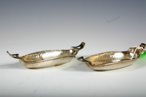 3: Pair Liberty & Company Sterling Silver Salts