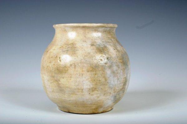 22: Signed Volkmar Stoneware Vase c1934