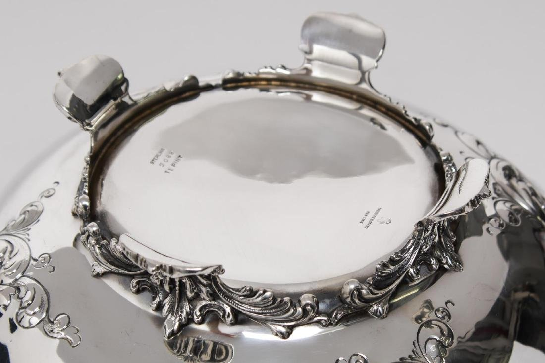 Starr Sterling Silver Punch Bowl, Rococo-Manner - 4