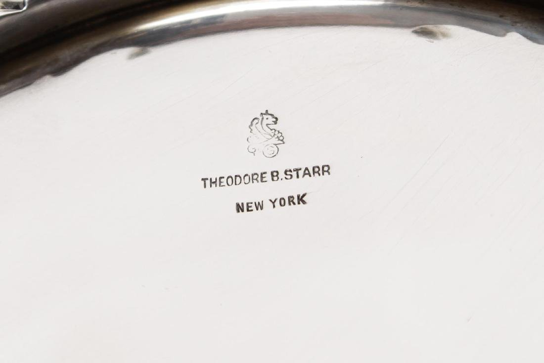 Starr Sterling Silver Punch Bowl, Rococo-Manner - 8