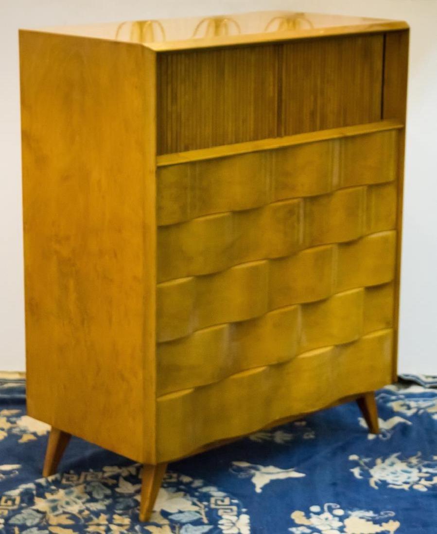 Edmond Spence Mid-Century Wave-Front Dresser