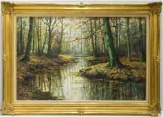 Kees Terlouw (Danish, 1890-1948)- Landscape Oil