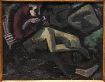 Signed Max Weber- Oil on Canvas