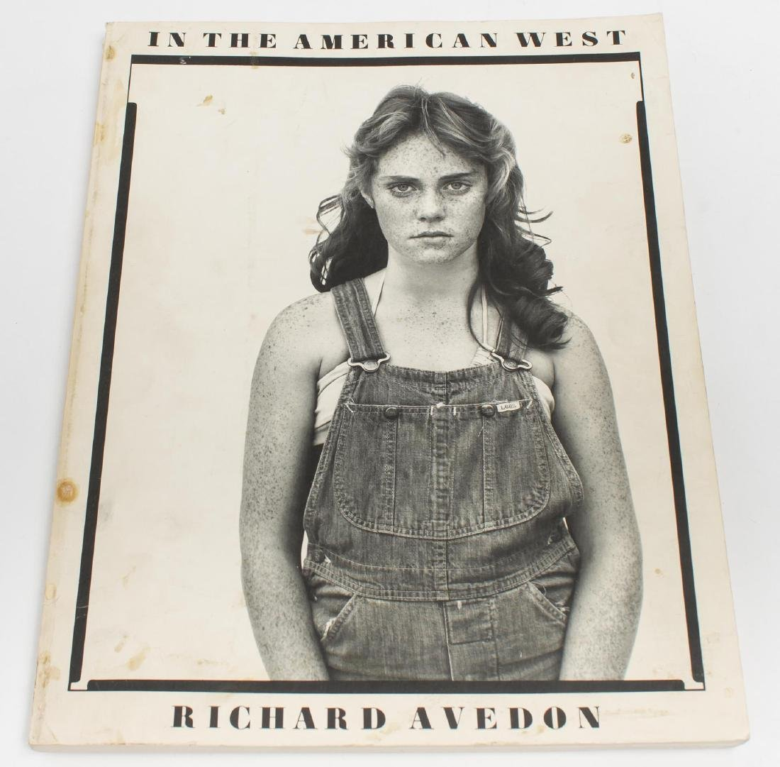 "Richard Avedon ""In the American West"" Catalog 1985"