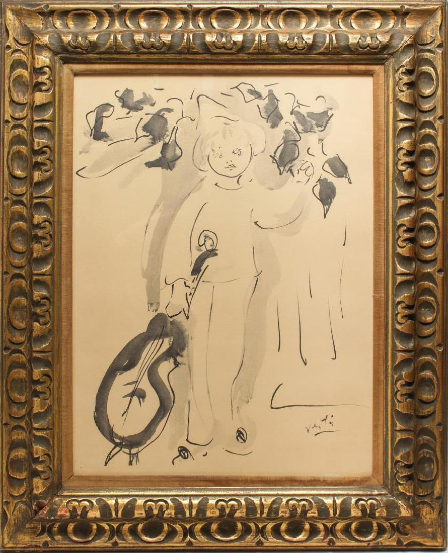 Marcel Vertes (French, 1895-1961)- Lithograph