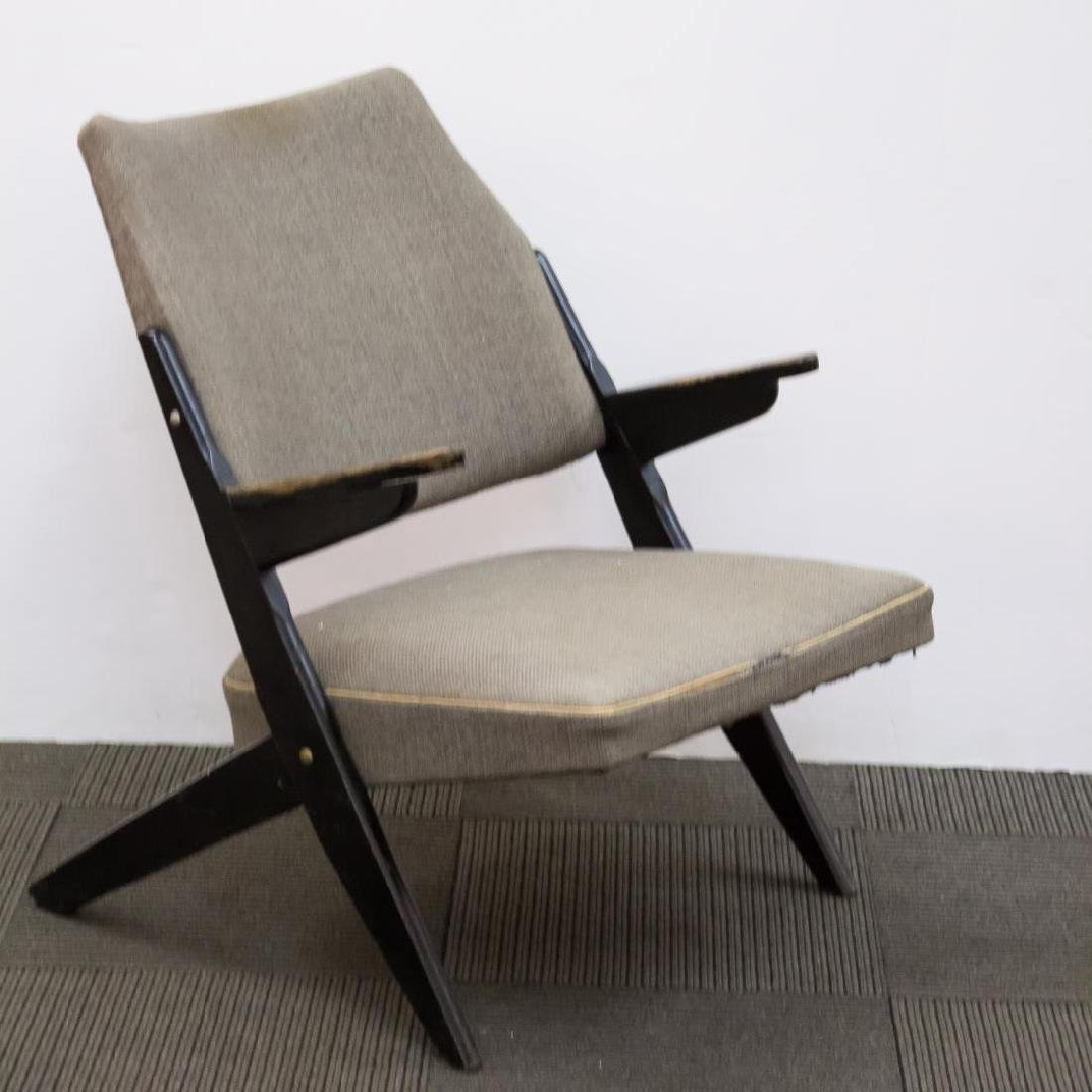 Mid-Century Modern Chair, Scandinavian or Dutch