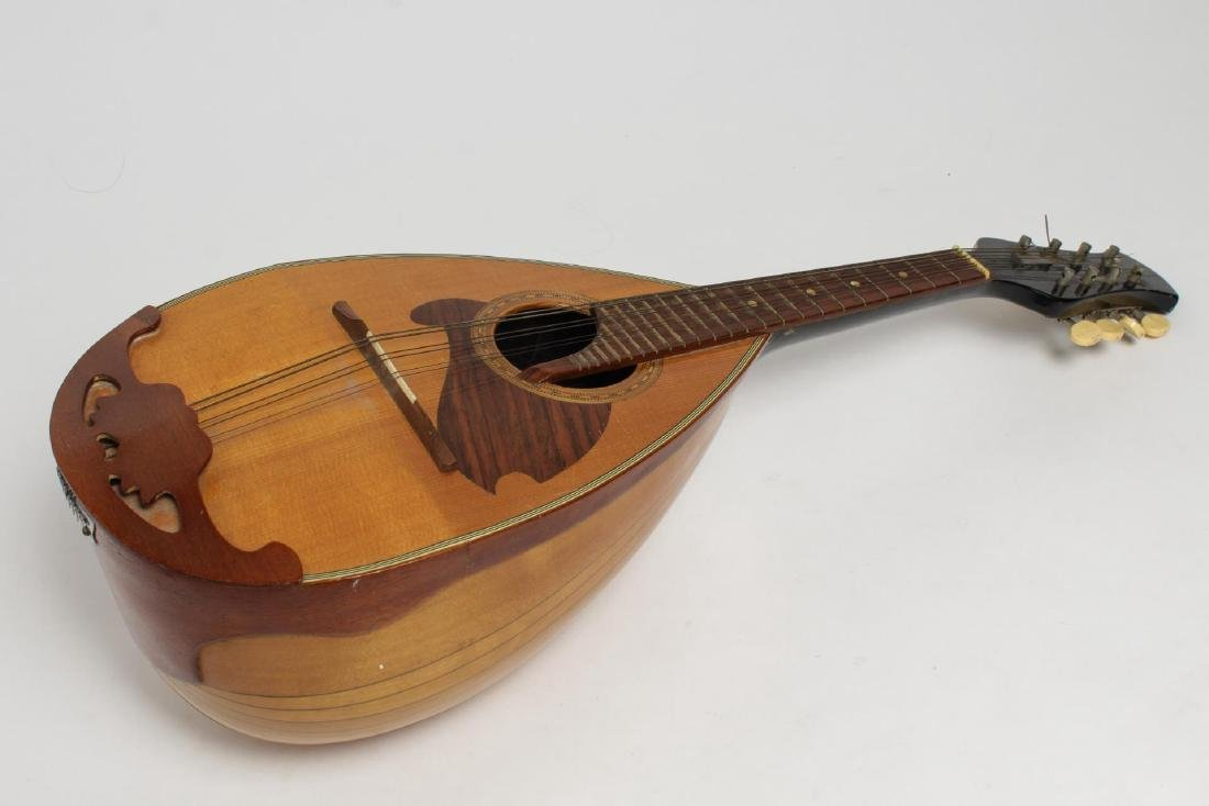 Japanese Suzuki Mandolin, #968 6-String Bowl-Back - 2