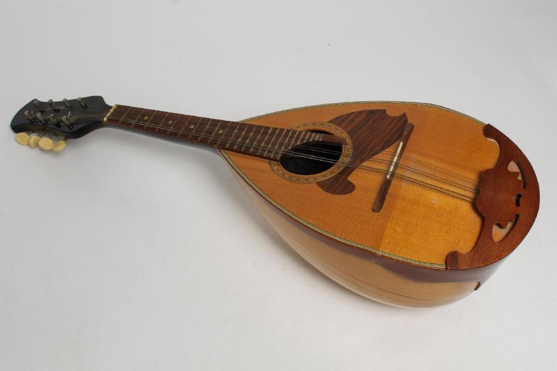 Japanese Suzuki Mandolin, #968 6-String Bowl-Back - 3