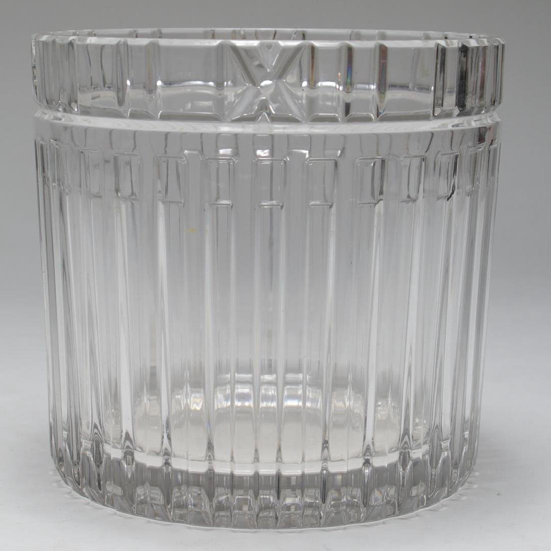 "Tiffany & Co. ""Atlas"" Crystal Champagne Cooler"