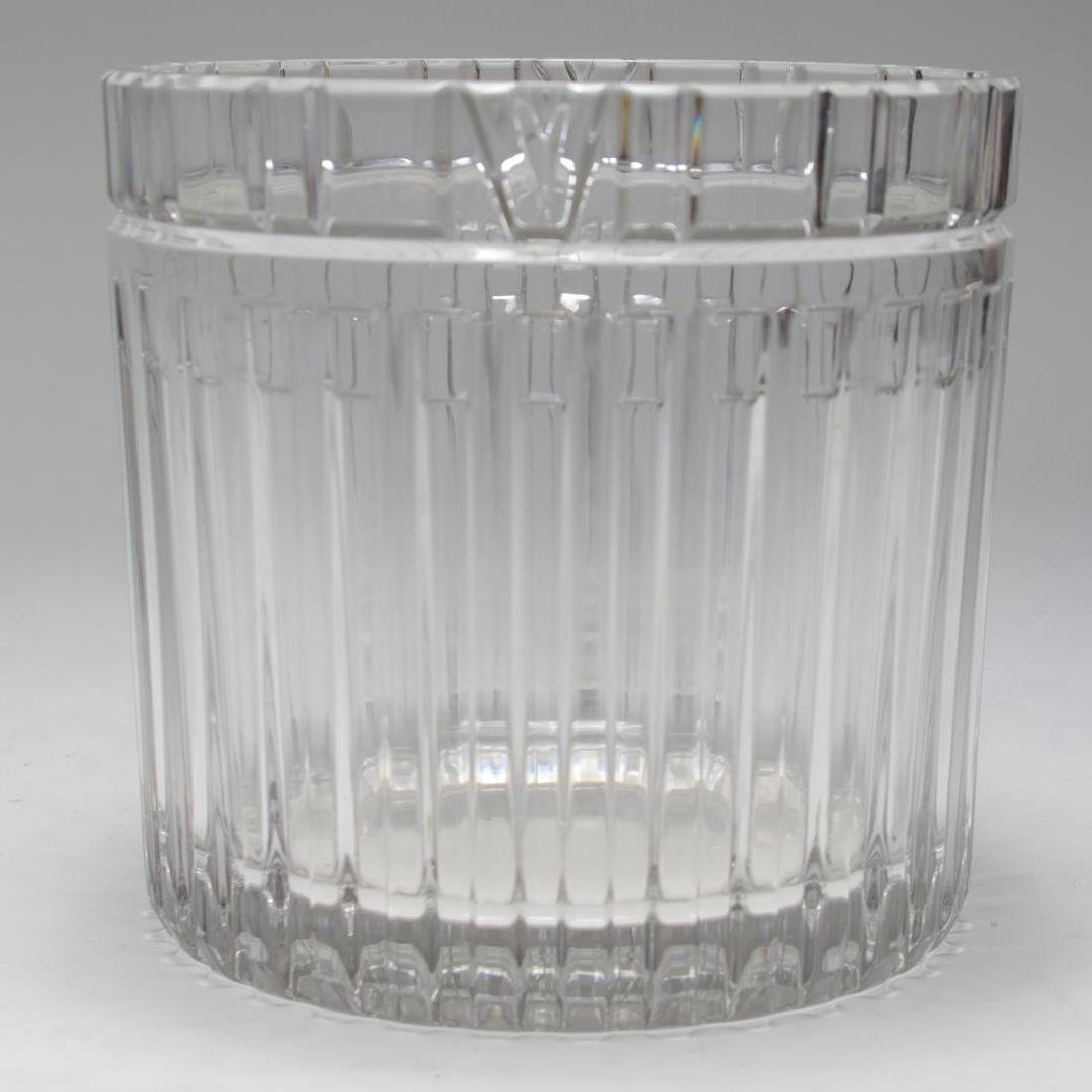 "Tiffany & Co. ""Atlas"" Crystal Champagne Cooler - 2"