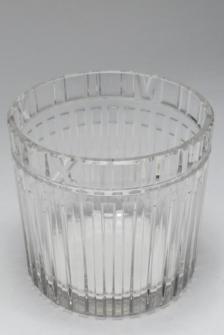 "Tiffany & Co. ""Atlas"" Crystal Champagne Cooler - 3"