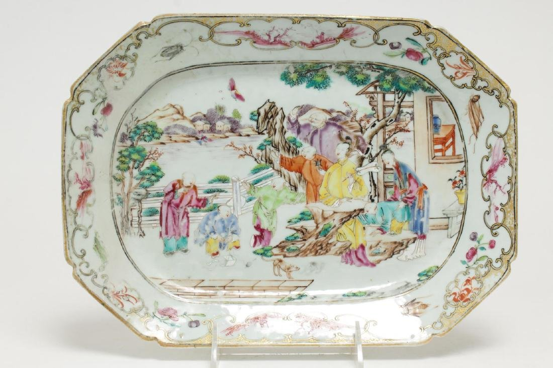 Chinese Export Porcelain Serving Trays, Antique - 2