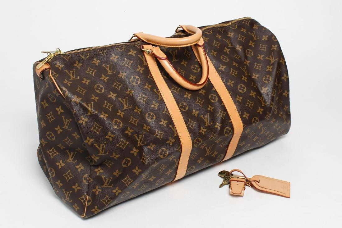 "Louis Vuitton ""Keepall 55"" Monogram Duffel Bag"