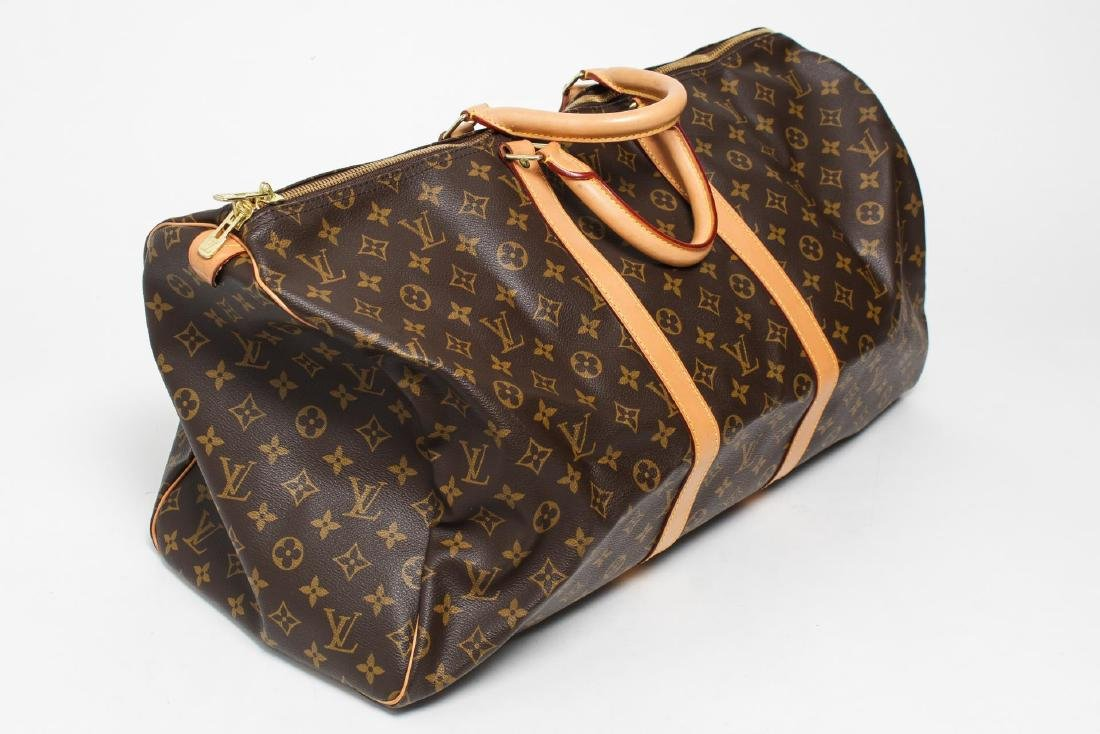 "Louis Vuitton ""Keepall 55"" Monogram Duffel Bag - 2"