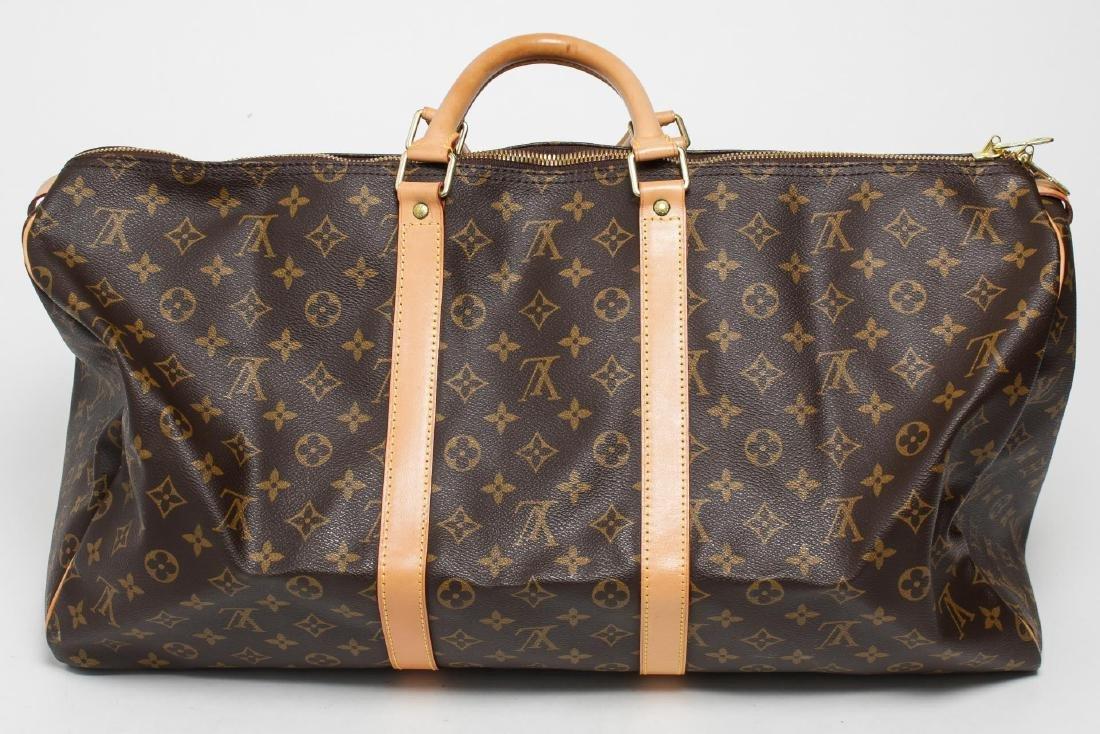 "Louis Vuitton ""Keepall 55"" Monogram Duffel Bag - 3"