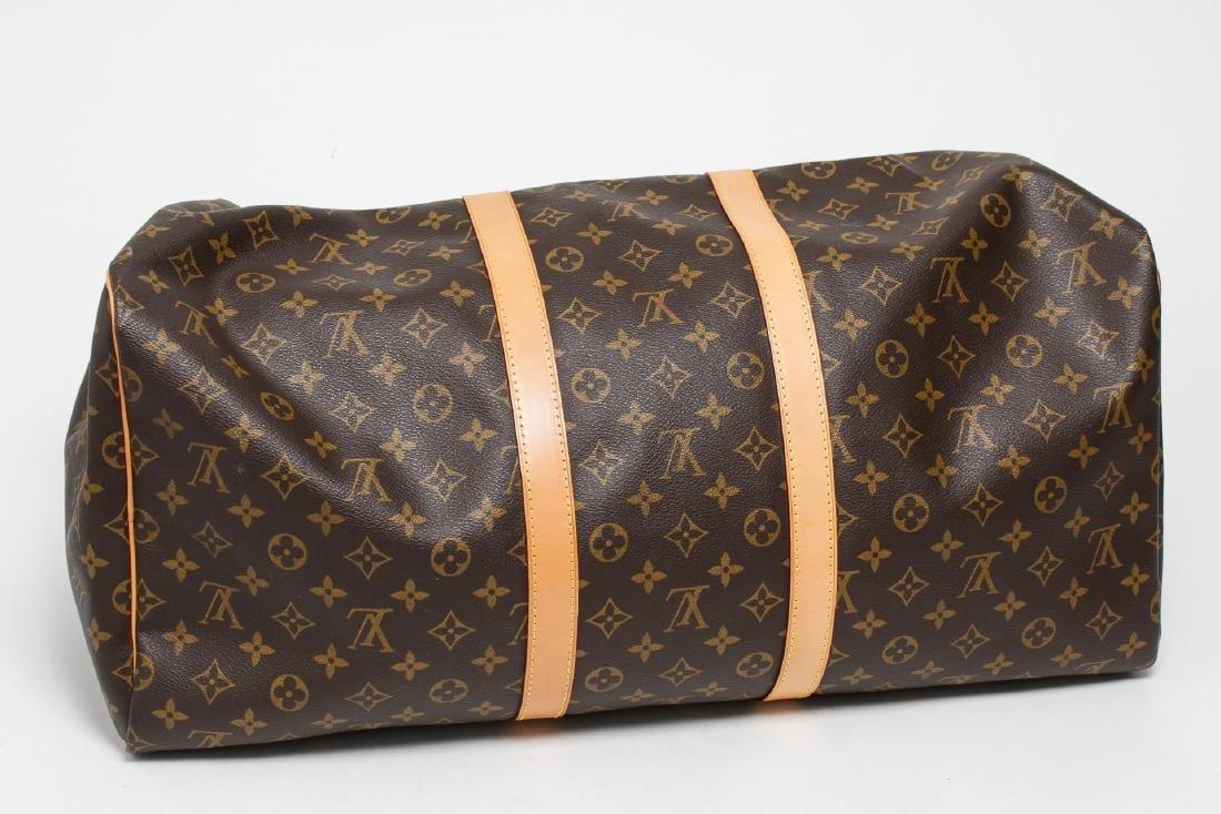 "Louis Vuitton ""Keepall 55"" Monogram Duffel Bag - 5"