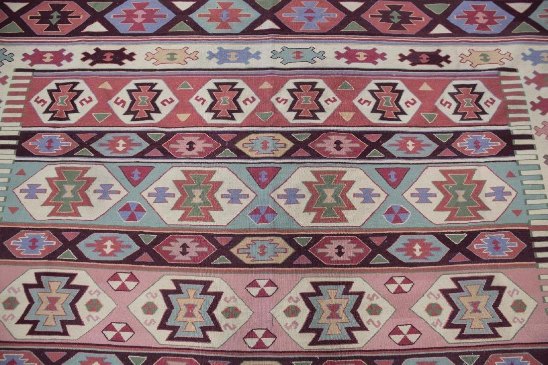 "Kilm Flat Weave Carpet, 8' 7"" X 11' 5"" - 2"