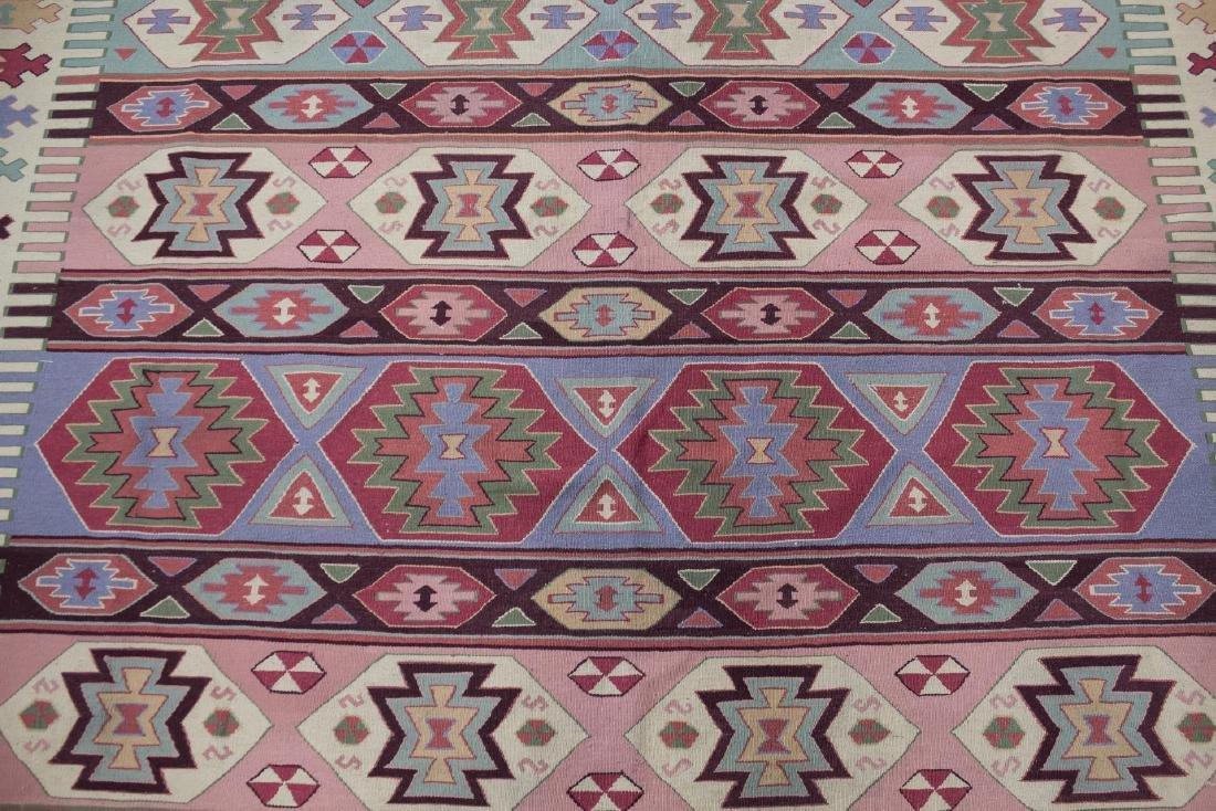 "Kilm Flat Weave Carpet, 8' 7"" X 11' 5"" - 4"