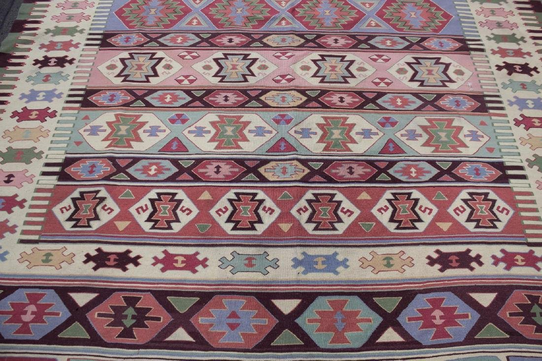 "Kilm Flat Weave Carpet, 8' 7"" X 11' 5"" - 5"