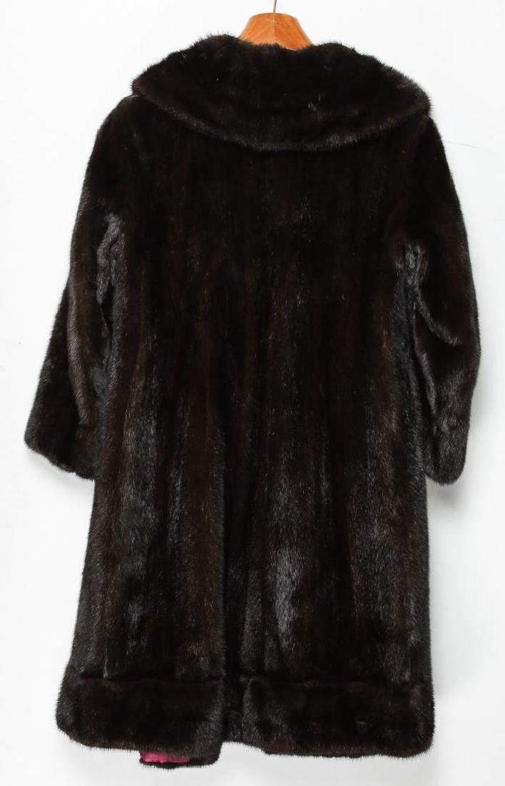 Mink Coat, Vintage Fur, in Natural Ranch - 5