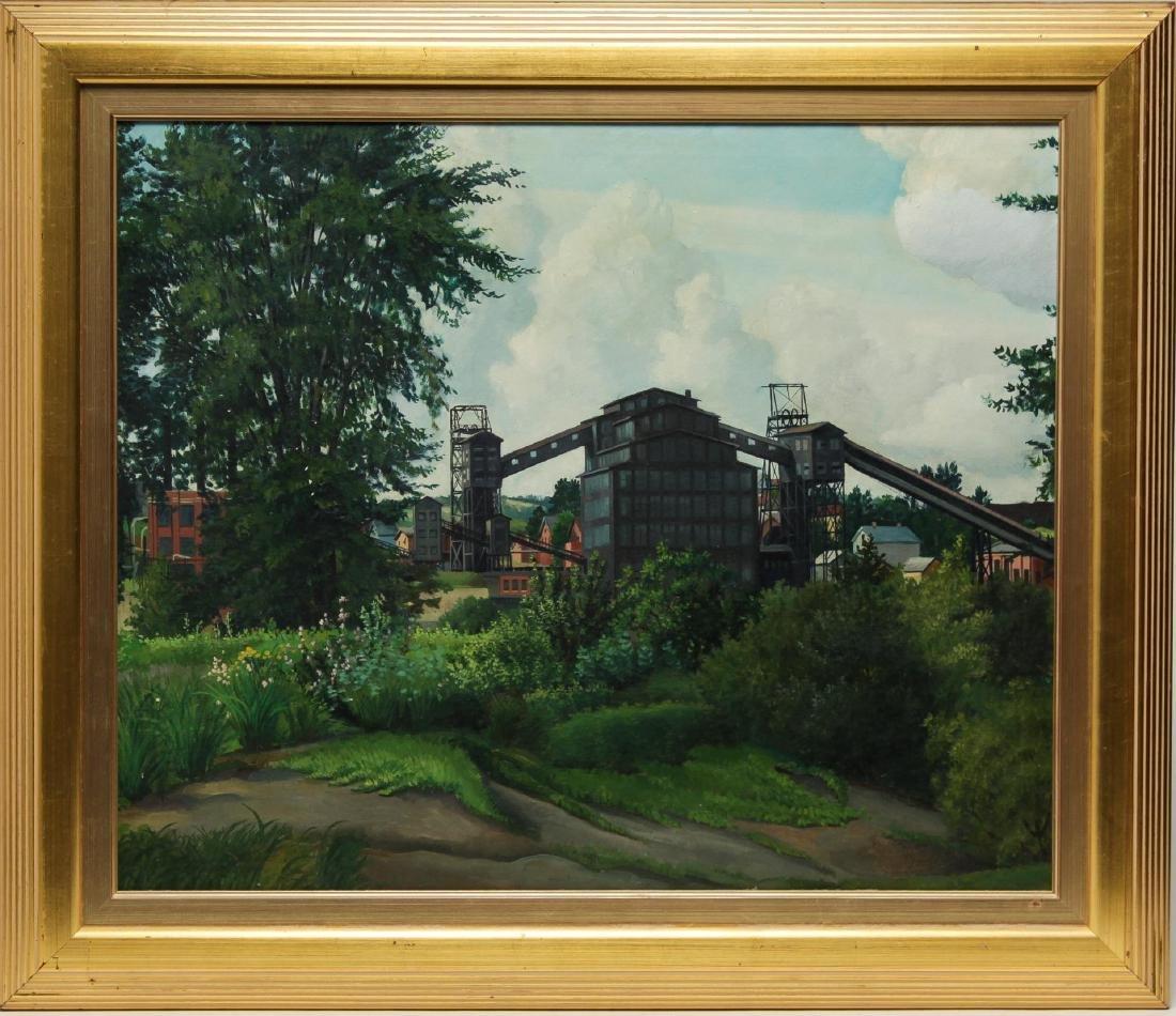 Signed Nicholas Conto- Landscape Oil on Canvas