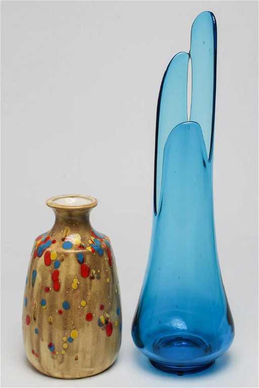 Mid Century Modern Studio Art Vases 2