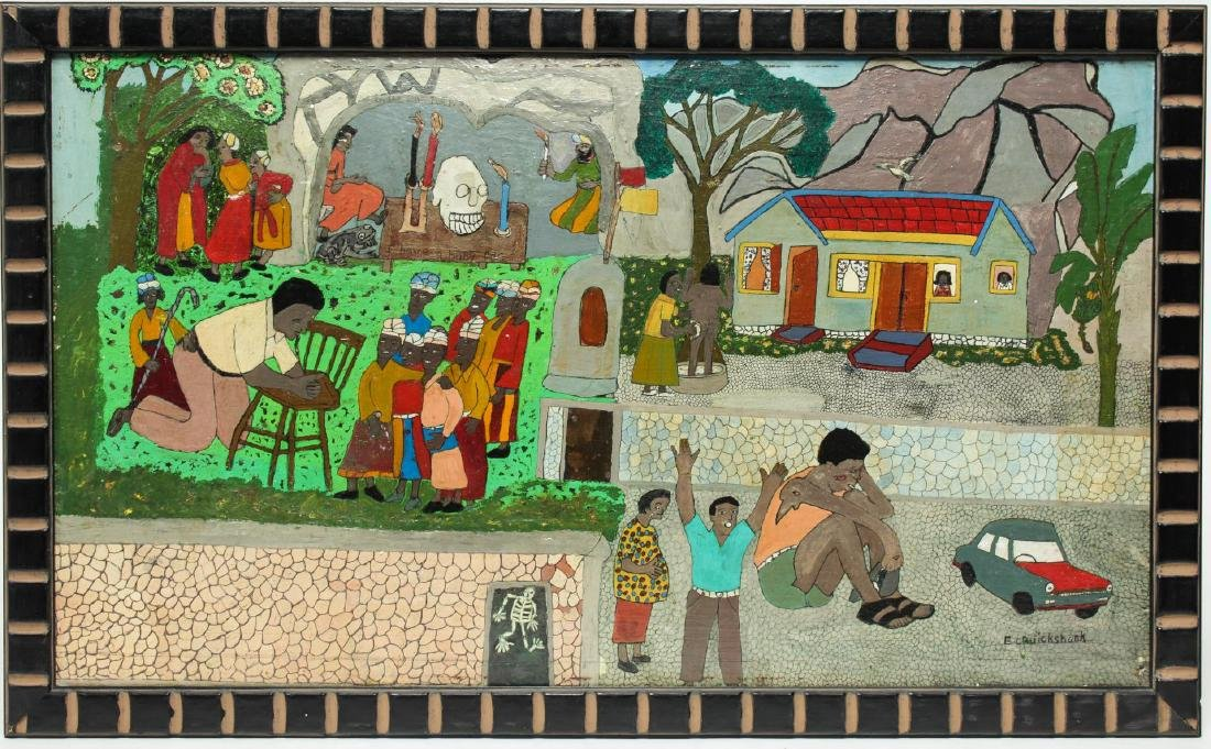 Evadney Cruickshank (Jamaican, 20th C.)- Oil