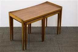 Danish Modern Teakwood Nesting Tables